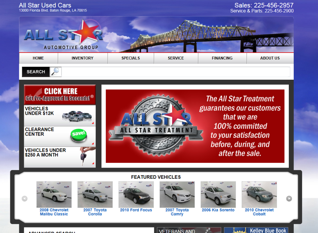 used cars in baton rouge
