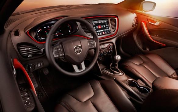 Dodge Dart Interior