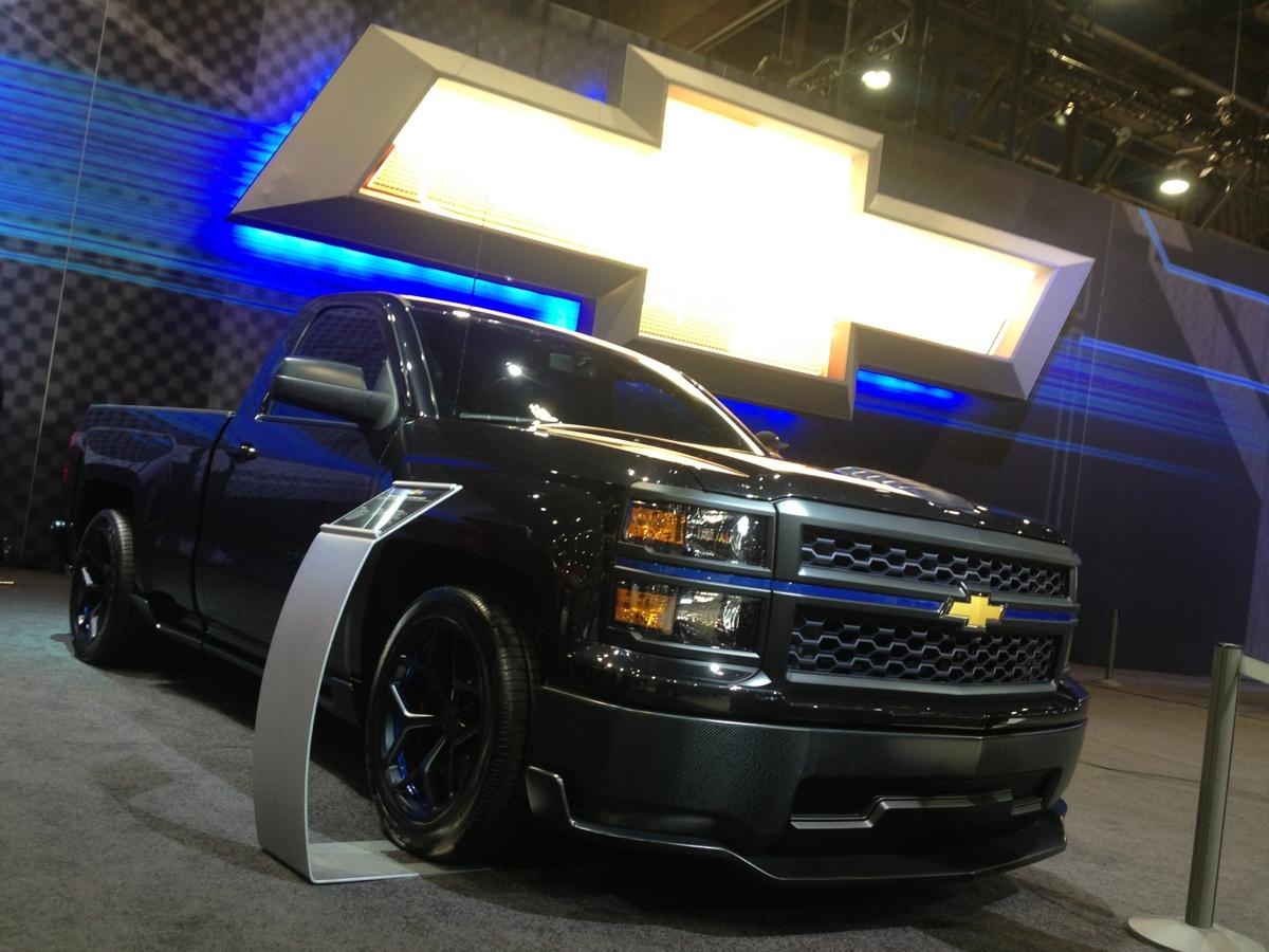 The 2014 Chevrolet Cheyenne Silverado Concept | All Star ...