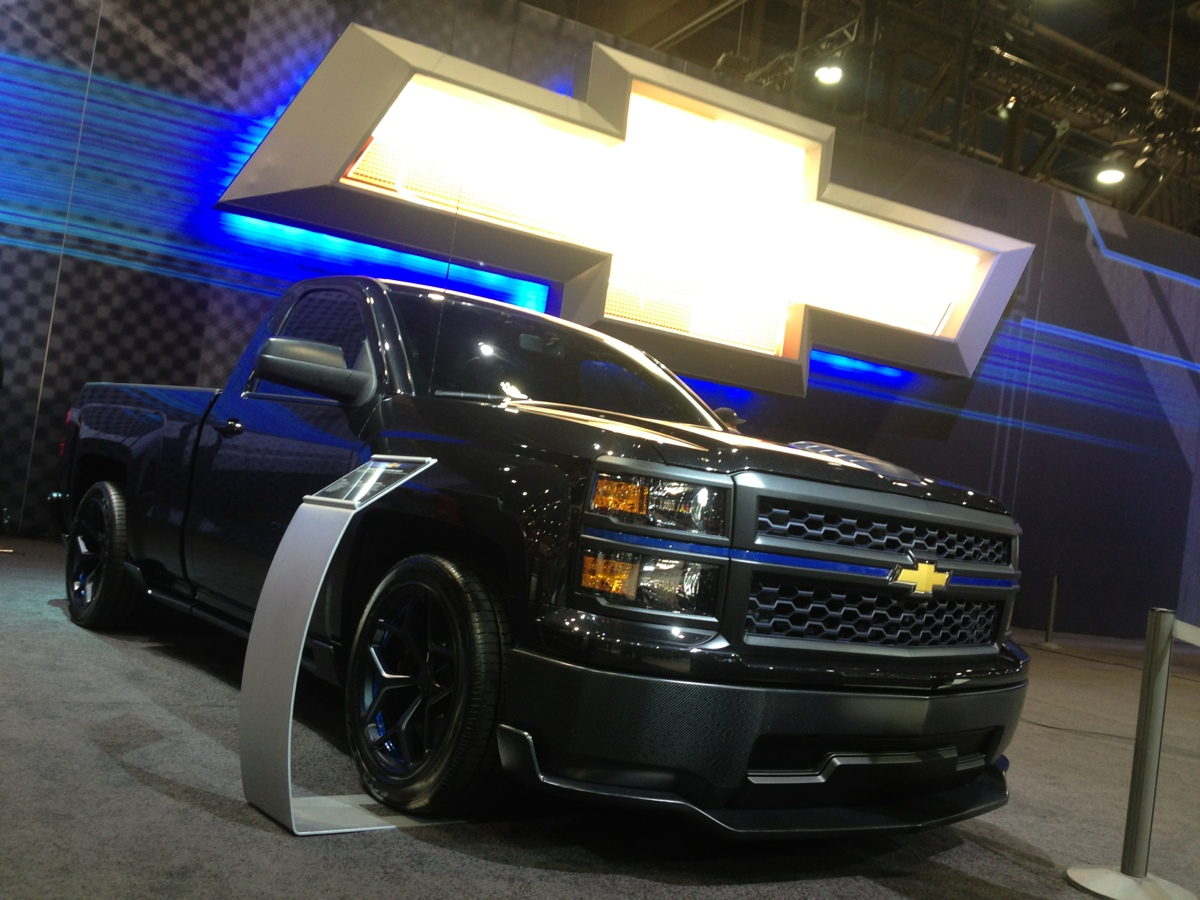 Truck chevy concept truck : The 2014 Chevrolet Cheyenne Silverado Concept | All Star ...