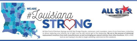 Louisiana Strong Graphic