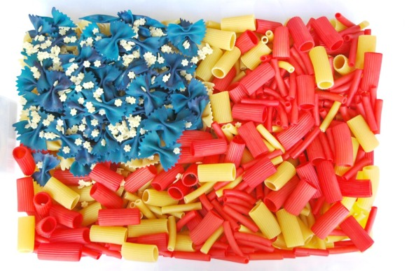 Stars And Stripes Sensory Bin