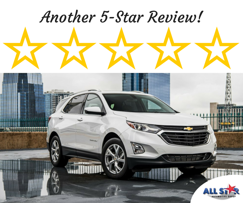 All Star Automotive Group Gets Another 5 Star Review